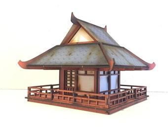 Medium Japanese Building - ATJA012