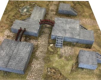 Stone Pedestal Bundle - ATJA018