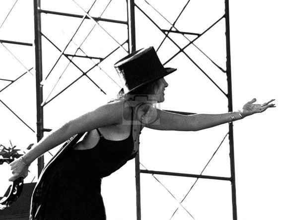 Stevie Nicks Top Hat Fine Art Print