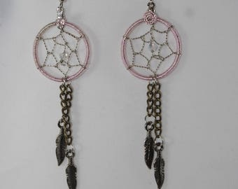 Steampunk Dream Catcher Earrings