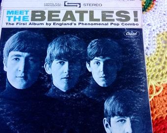 Meet the Beatles vinyl Album