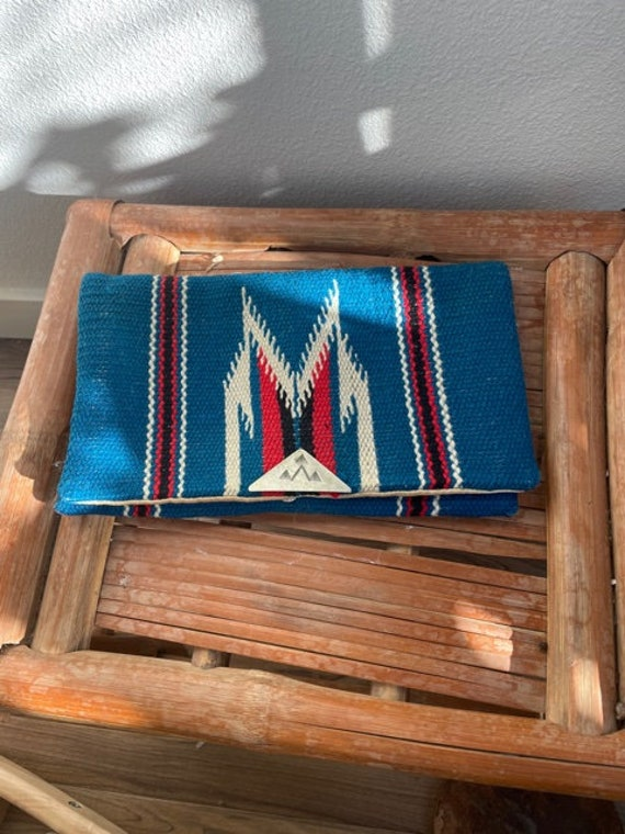 1930s Chimayo Clutch with Sterling Silver Clasp
