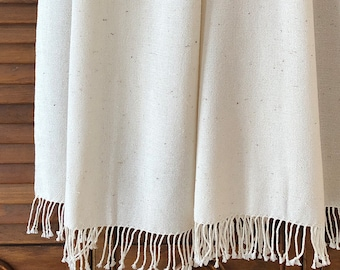 Handwoven Shawl | Silk & Cotton