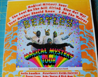 """The Beatles Magical Mystery Tour advertisement Replica 14 x 11/"""" Photo Print"""