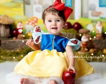 Disney Princess DressDisney CosplaySnow White costumeGirls
