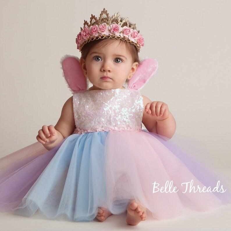 1baaee66306f Pastel Easter Bunny Romper Tutu for Girls Pink Glitter Easter | Etsy