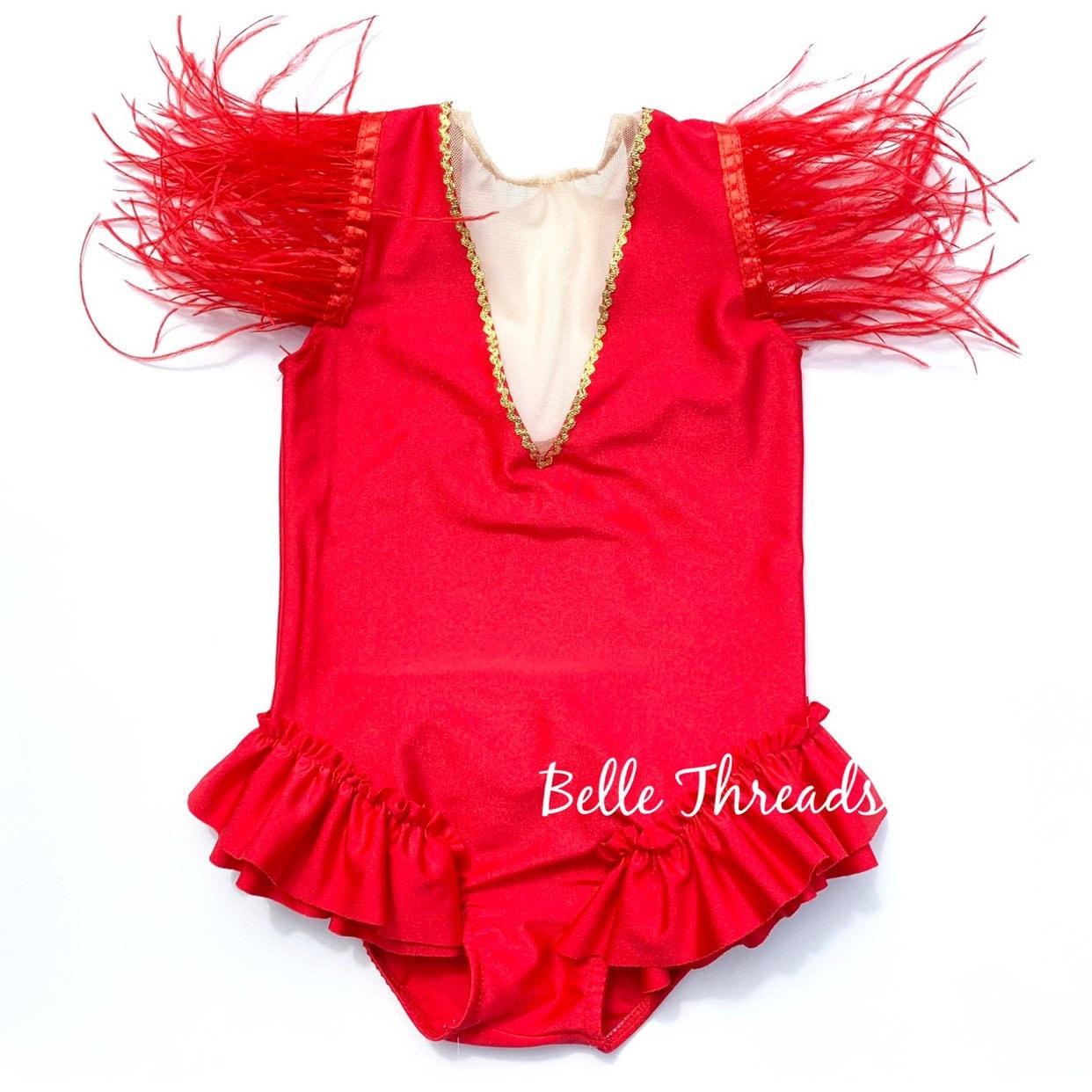 Women/'s Trapeze Artist Cosplay Costume Short Cape Top High Cut Leotard Bodysuit