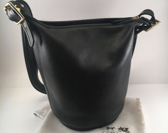 9675274487fe RESERVED for BC 4 3   Vintage Coach Bucket Bag   Coach Feed Sac Bag    Helen s Legacy Style 9953