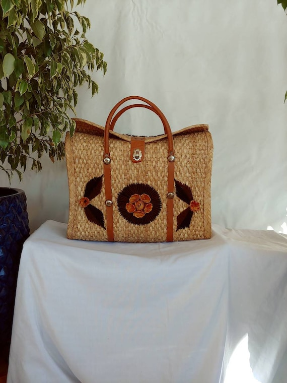 Straw Beach Bag Made in Mexico