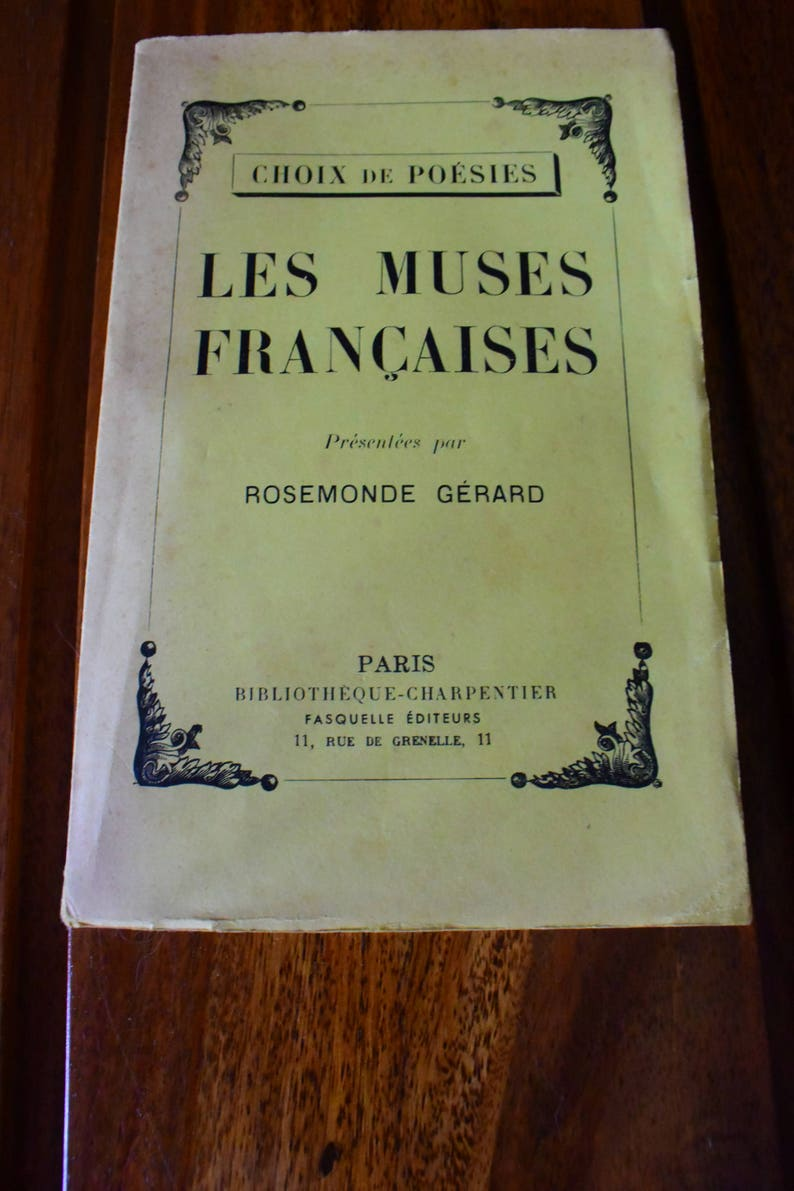 1 book ancient poetry french muse image 0