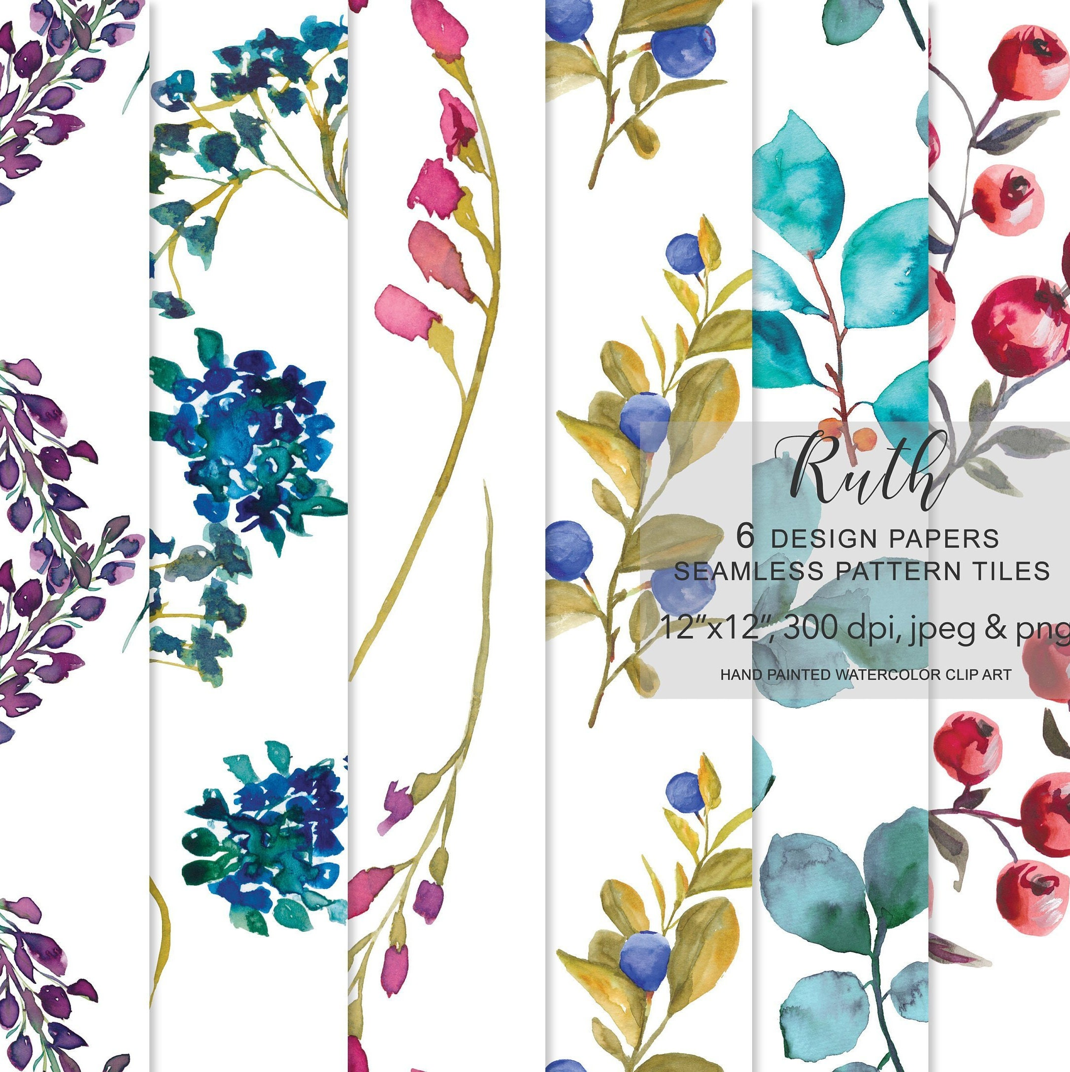 Floral Background Design Png