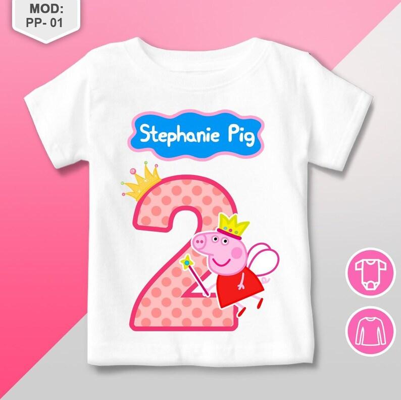 Peppa Pig Birthday Shirt T