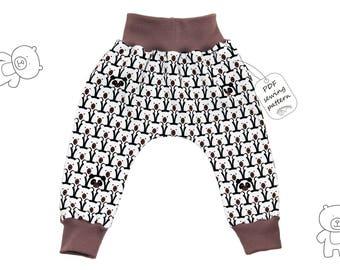 Infant And Toddler Harem Pants Thunderbolts