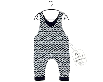 Baby romper pattern PDF, kids romper pattern PDF, sewing patterns, sewing patterns baby