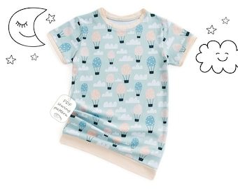 Girls nightshirt sewing pattern pdf, girls pattern