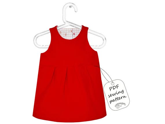 Baby Dress Sewing Pattern Pdf Download Baby Sewing Patterns Etsy