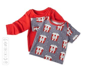 Baby lap tee pattern pdf, baby pattern