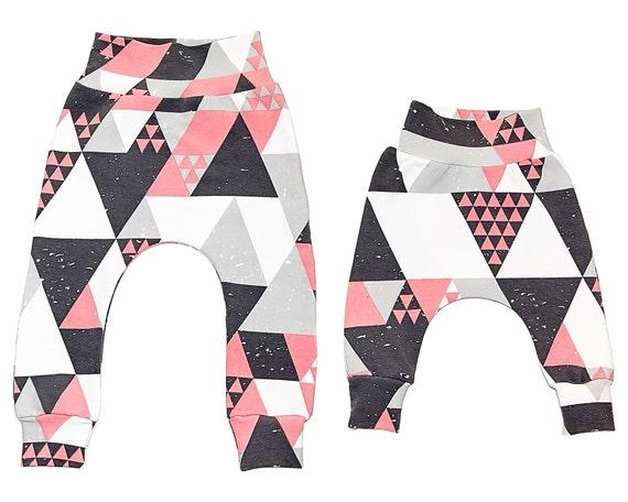 Baby harem pants Sewing Pattern PDF baby sewing patterns size | Etsy