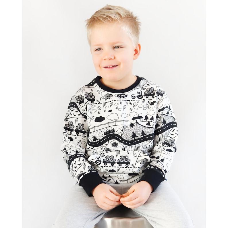 1c4b754ee788 Kids sweatshirt sewing pattern PDF download sewing patterns