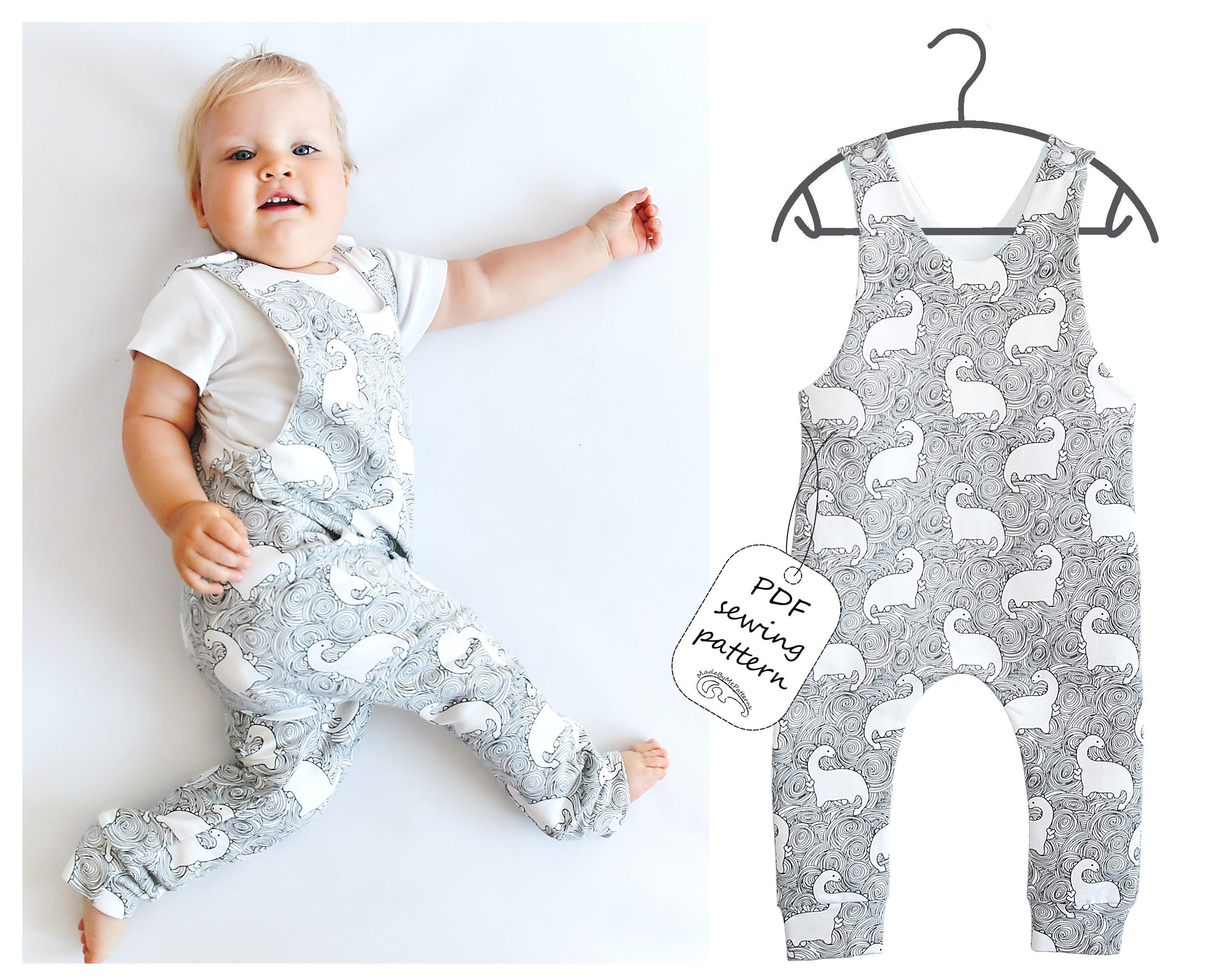 5f5266023f15 Romper Sewing Pattern PDF