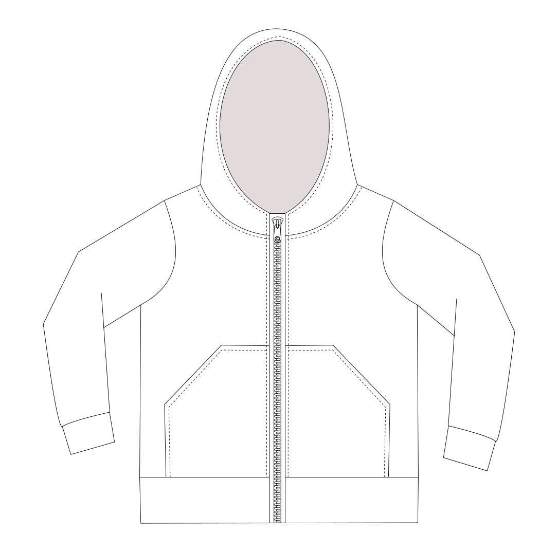 Hoodie Sewing Pattern Pdf Download Baby Sewing Patterns Kids