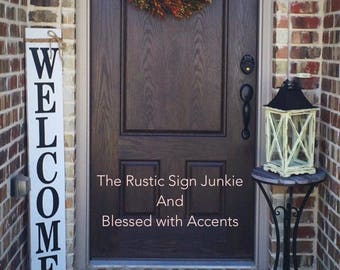Delicieux Large Welcome Signs, Rustic Wood Welcome Signs, Welcome Porch Signs, Front  Porch Decor, Rustic Welcome Signs, Front Porch Wood Welcome Signs