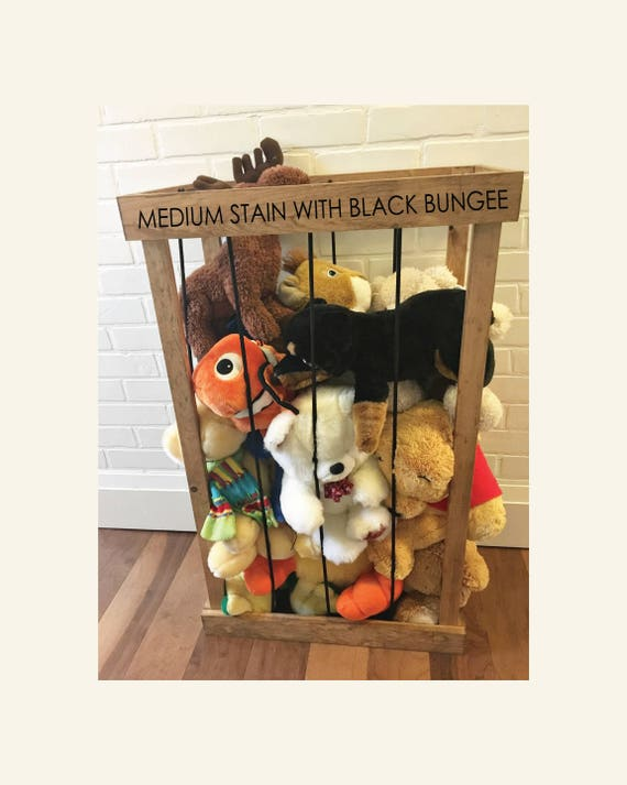 Stuffed Animal Zoo Storage Cage Etsy