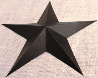 "24"" Large Metal Tin Barn Star - Wall Decor"