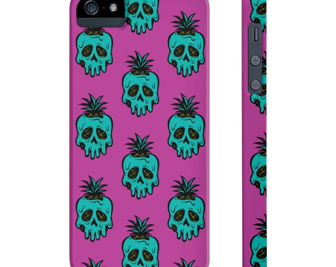 Sweet Poison Pineapple Slim Phone Case