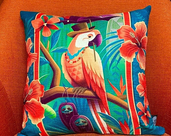 Head Salesman of the East, Double Sided Pillow Cover