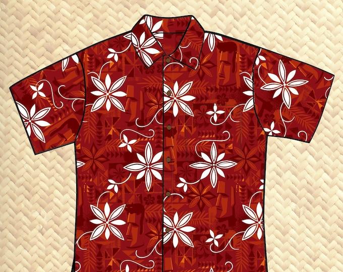 PRE ORDER, Polynesian Pomp Unisex Aloha Shirt