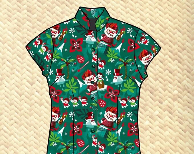 PRE ORDER, Rum Miser Women's Aloha Shirt
