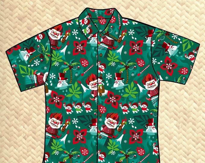 PRE ORDER, Rum Miser Unisex Aloha Shirt