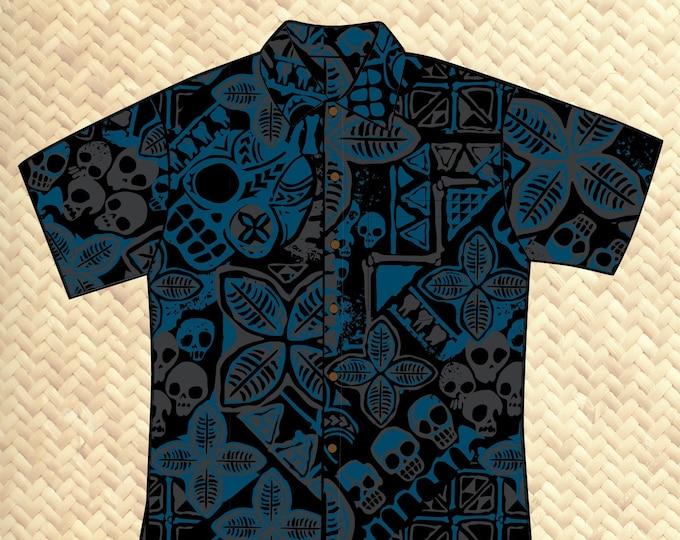 PRE ORDER, Danger A-Head Unisex Aloha Shirt