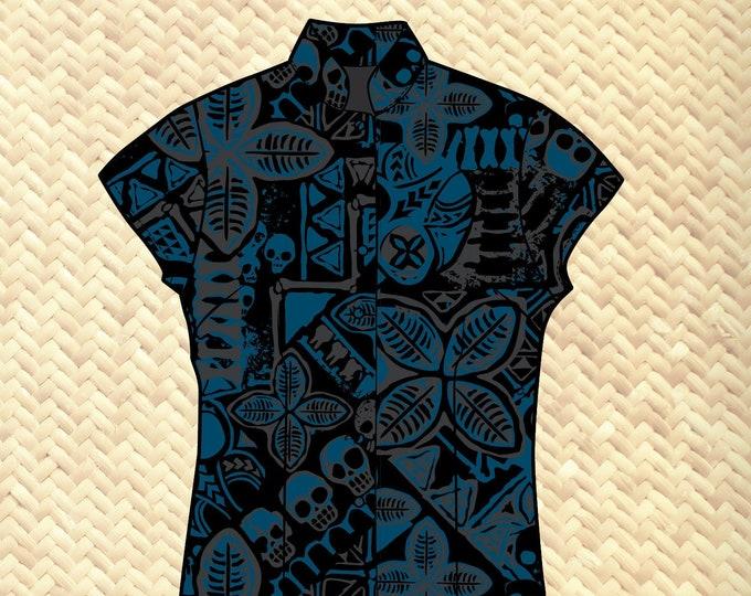 PRE ORDER, Danger A-Head Women's Aloha Shirt