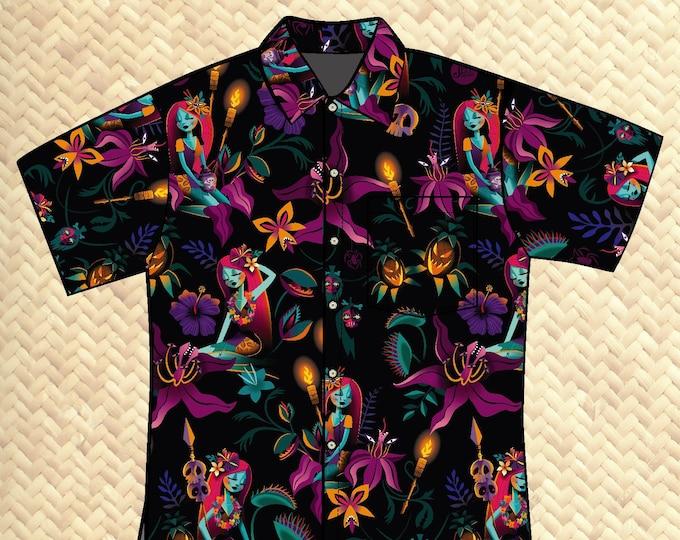 PRE ORDER, Tropic Nightshade Unisex Aloha Shirt