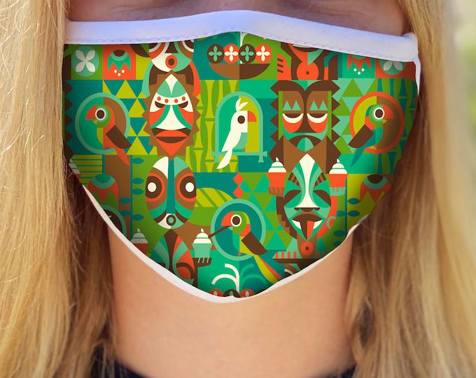 PRE ORDER Tiki Room Breeze Face Mask Four Week Ship Time