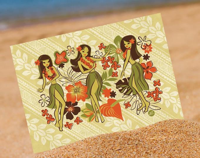 Classic Hula Mini Print