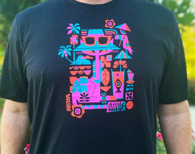 Tiki Cat T-shirt