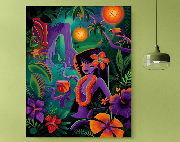 Autographed Gallery Canvas Giclee, Lost and Found