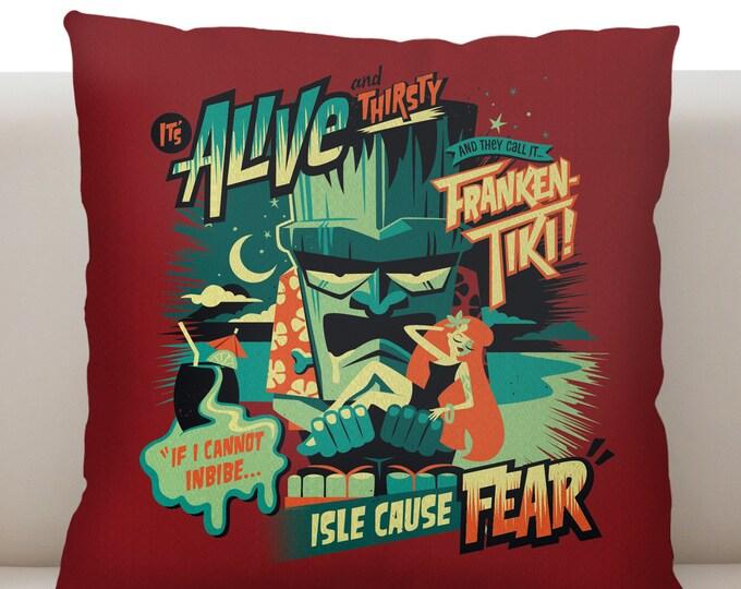 Frankentiki Pillowcase