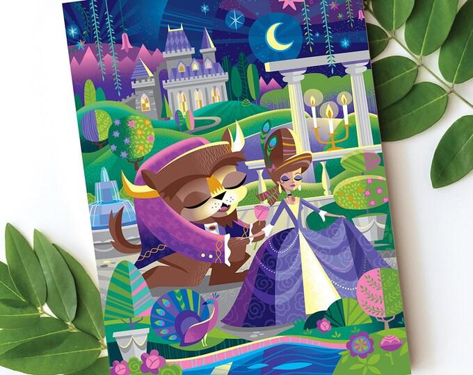 Beast's Castle Postcard