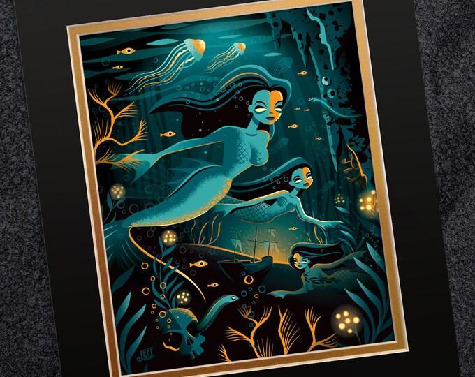 Siren Seas Print