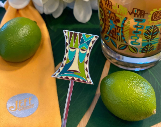 Pre-Order Jungle JuJu Warning Swizzle Stick, Delivery Early September, Make a Drink AND a Splash~ Cheers!
