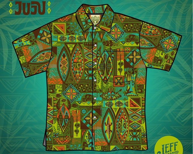 Final Sale No Returns Jungle JuJu, Aloha Unisex Shirt, Limited Edition-Free Matching Face Mask, Free Shipping