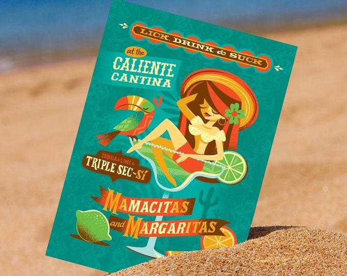 Margarita Mamacita 5 x 7 Mini Print