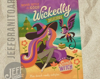 Wickedly Delicious Postcard