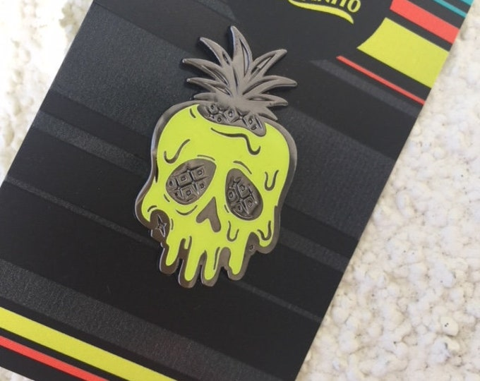 Limited Edition Poisoned Pineapple Glow Pin