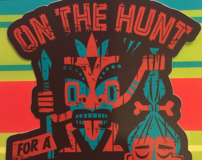 Head Hunter Vinyl Sticker