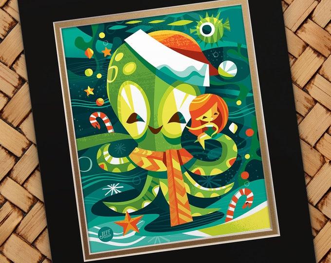 Yule Tide Greetings Print